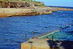 Strand i Sydney, Australien Arkivbilder