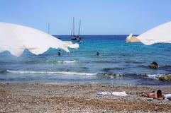 Strand i Tabarca3 Fotografering för Bildbyråer