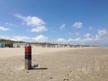 Strand i Texel Royaltyfri Bild