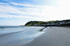 Strand in Ierland Stock Afbeelding