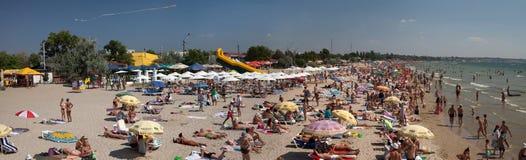 Strand im Sommer Lizenzfreies Stockbild