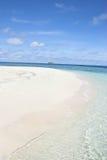 Strand innerhalb der Insel Lizenzfreies Stockbild
