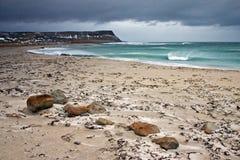 Strand in Island stockbilder