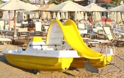 Strand in Italië Stock Foto's