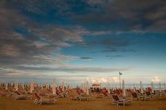 Strand in Italien Stockbild
