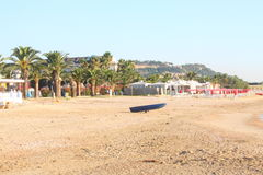 strand italy Royaltyfri Bild