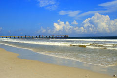 Strand Jacksonvilles, Florida Stockfoto
