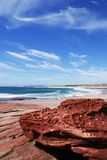 Strand in Kalbarri Stockfotos