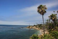 strand Kalifornien kyliga laguna ut Fotografering för Bildbyråer