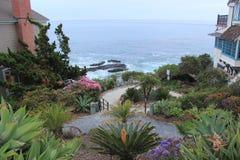 strand Kalifornien kyliga laguna ut Royaltyfri Foto