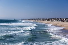 strand Kalifornien venice Arkivbild