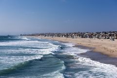 strand Kalifornien venice Arkivfoton