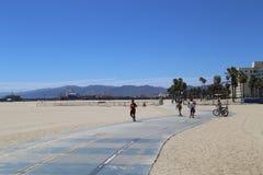 strand Kalifornien venice Royaltyfria Foton