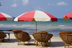 Strand in Kambodja Royalty-vrije Stock Afbeelding