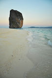 Strand in Karbi THAILAND Royalty-vrije Stock Foto's