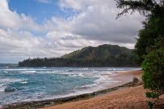 Strand Kauais, Hawaii Stockfotografie