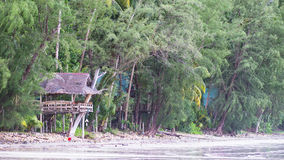 Strand in Koh Chang, Thailand Stock Afbeeldingen