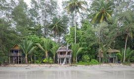 Strand in Koh Chang, Thailand Royalty-vrije Stock Foto's