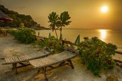 Strand Koh Nang Yuan, Thailand Royalty-vrije Stock Fotografie