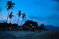 Strand in Koh Phangan Lizenzfreie Stockfotografie