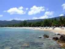 Strand in Koh Samui, Thailand. Royalty-vrije Stock Afbeelding