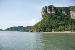 Strand Krabi Thailand för Ao Nang Royaltyfria Foton
