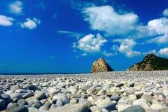 Strand in Krim Stockfotos
