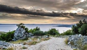 Strand Kroatien Lizenzfreies Stockfoto
