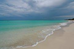 Strand Kuba Stockfoto