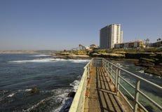 Strand in La Jolla, San Diego Stock Foto's