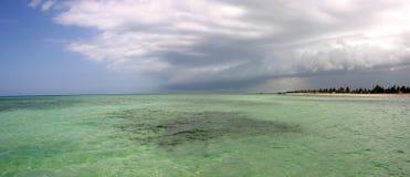 Strand in La Trinidad in Cuba Stock Afbeeldingen