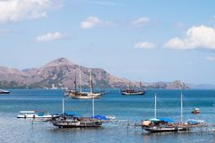 Strand in Labuan Bajo, Flores Indonesien stockbild