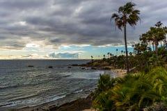 strand laguna Royaltyfri Bild