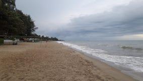 Strand Lammapim Rayong arkivbild