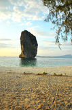 Strand-Landschaft in Thailand Stockfotografie