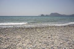 Strand-Landschaftsansicht Stockbild