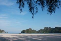 strand langkawi Arkivbild