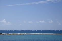 Strand Las Canteras, Las Palmas de Gran Canaria Stockbild