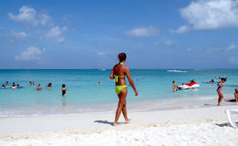 Strand-Leben Stockbild