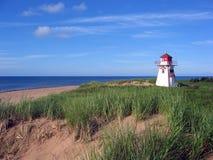 Strand-Leuchtturm lizenzfreie stockfotos