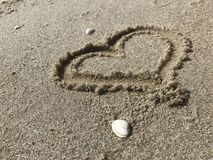 Strand-Liebe Lizenzfreies Stockbild