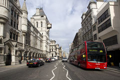 Strand in London Stock Image