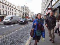 The Strand, London Royalty Free Stock Photo
