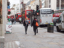 The Strand, London Royalty Free Stock Image