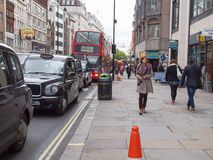 The Strand, London Royalty Free Stock Photography