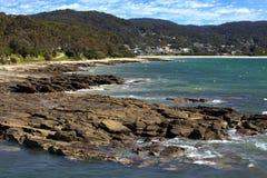 Strand in Lorne, Australië Royalty-vrije Stock Fotografie