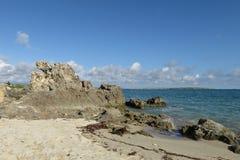 Strand in Madagaskar Stockbild