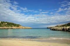Strand in Mallorca Royalty-vrije Stock Foto