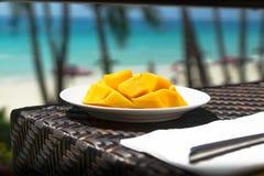 Strand-Mangos stockbild