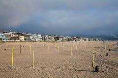 strand manhattan Royaltyfri Bild